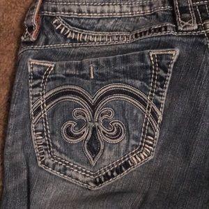 Woman's Rock Revival Jeans